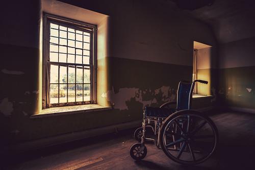photography abandoned abandonscape adwheeler explore history hospital mentalward sony sonyalpha sonyalphauniverse sonyimages travel wheelchair zeiss