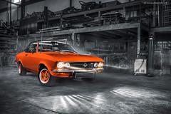 Orange Opel Manta A