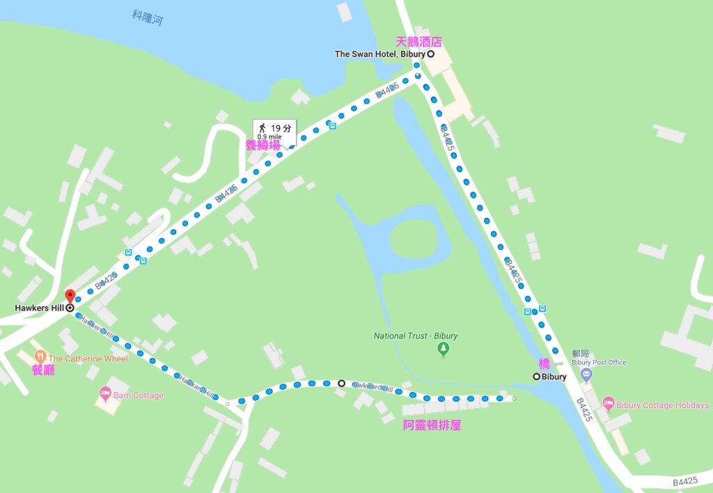 Bibury Map
