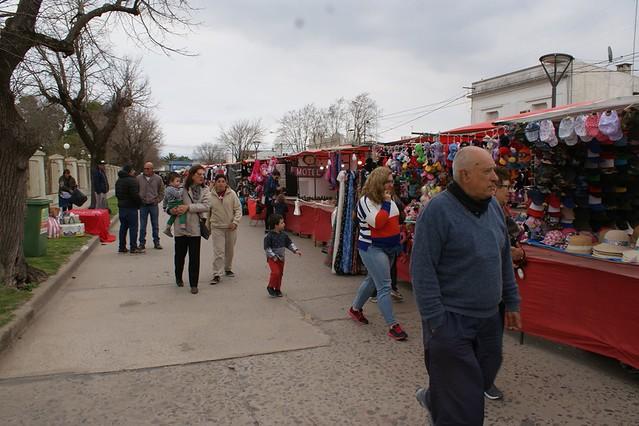Feria de las colectividades en Lobos