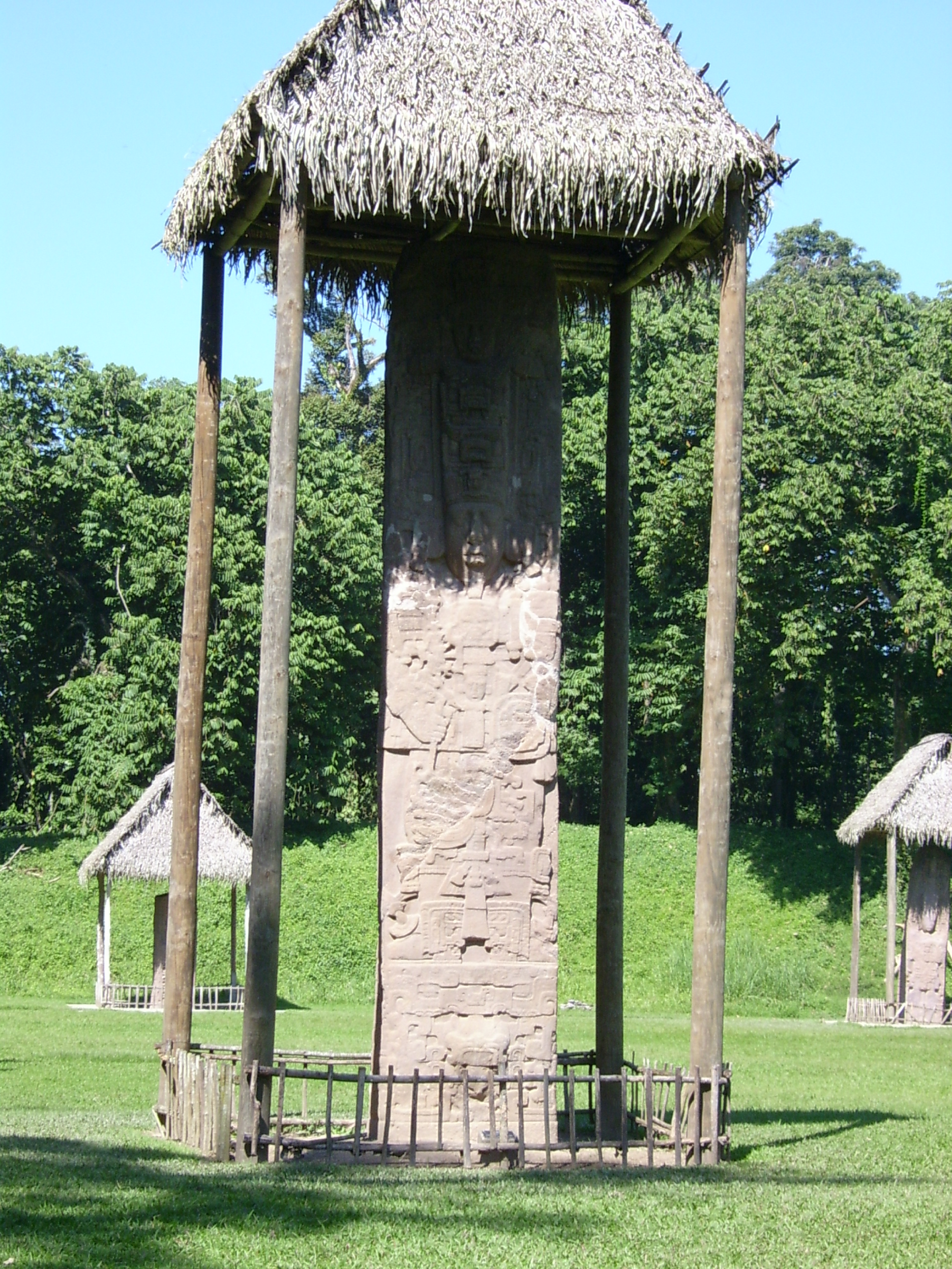 Stela E in Quiriguá, Guatemala, is 12 meters tall, making it the highest in Maya culture and possibly the largest freestanding stone monument in the New World. It was erected on January 22, 771.