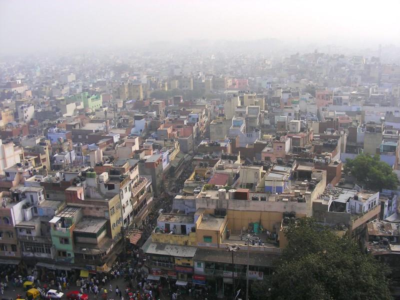 Delhi, view from Jamma Masjid