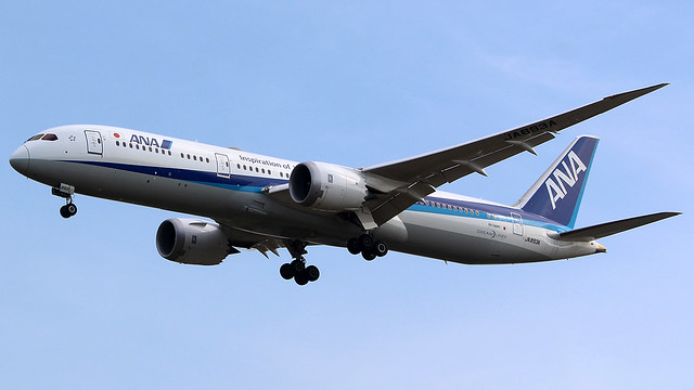 All Nippon Airways Boeing 787-9 JA893A