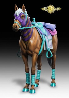 (Update) JoJo's Bizarre Adventure Part 7: Steel Ball Run Gyro Zeppeli's horse Valkyrie