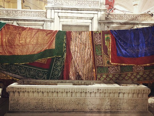 The Most Appropriate Interiors of the Tomb of Emperor Muhammed Shah Rangeela, the Colorful