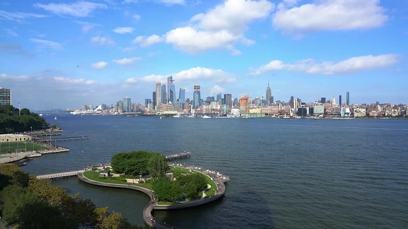Aerial Hoboken Pan PP1 UHD Clip 31