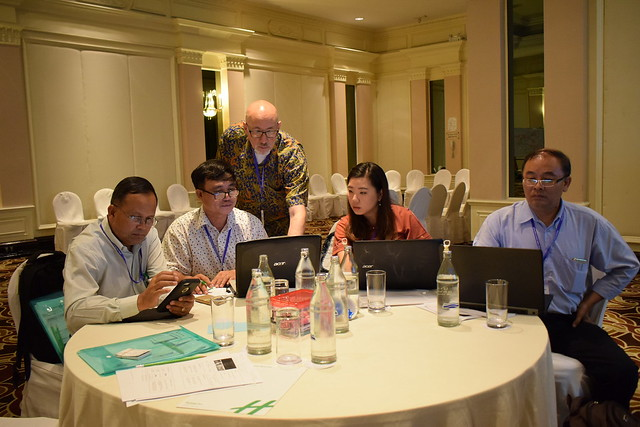 ILRI scientists support GHI208, Chiang Mai Uiniversity, Thailand