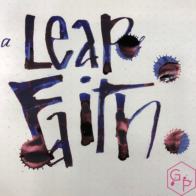 Phidon Pens 10th Anniversary A Leap of Faith Ink Review 18