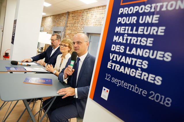 Jean-Michel Blanquer reçoit  le rapport
