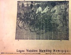 Lagos Vendors Hawking Newspapers