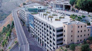 Il parcheggio multipiano a Taormina