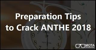 ANTHE 2018 Preparation Tips