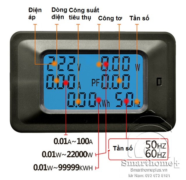 dong-ho-cong-to-do-dien-6-thong-so-100a-pvaf-100a