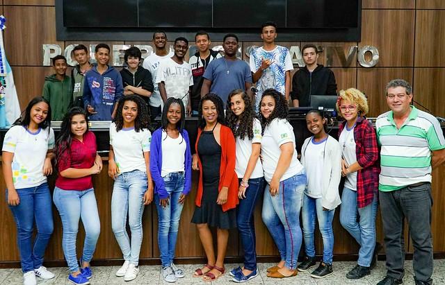 """Programa """"Visite a Câmara"""" - Escola Municipal José Reis, Bairro Prados Verdes - km 32"""