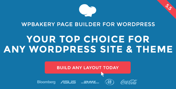 WPBakery Page Builder for WordPress (formerly Visual Composer) v5.5.4