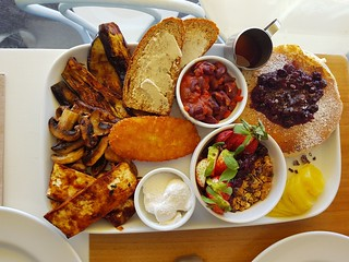 Vegan Breakfast Share Platter at Two Tables