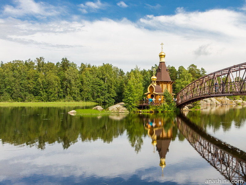 Храм апостола Андрея Первозванного на Вуоксе, Ленинградская область