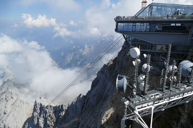 Zugspitze cable car station