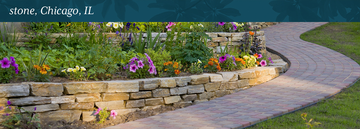 Aesthetic Paver Stone This material can give properties a more traditional aesthetic. Stone in  Chicago, IL is also low maintenance and can withstand harsh ...
