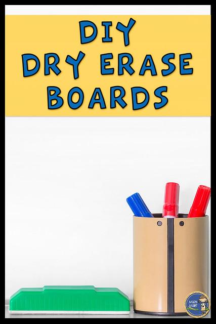 Dry Erase Boards; Shower Board