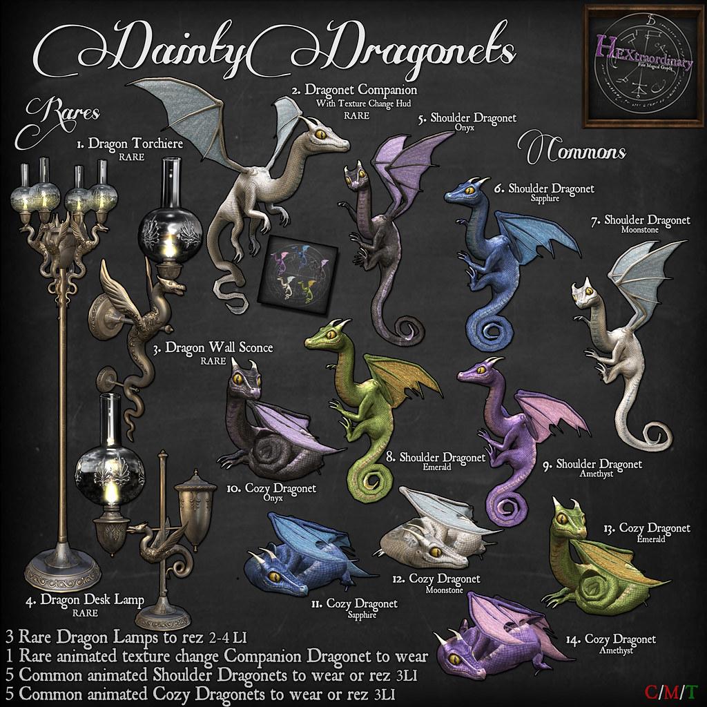 HEXtraordary Dainty Dragonet Gacha! - TeleportHub.com Live!