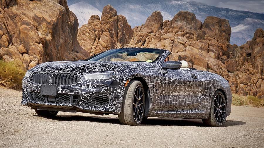 Серијата 8 на BMW ќе вози и без покрив