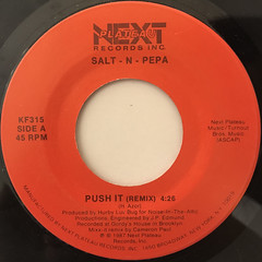 SALT-N-PEPA:PUSH IT(REMIX)(LABEL SIDE-A)
