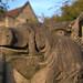 Boar's Head Gatepost at Tonbridge School, Kent