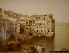 Palazzo DonnAnna at Posillipo / Naples (photo about 1865-1872) - Naples, private collection -  Exhibition Alphonse Bernoud, pioneer of photography, up to September 25, 2018 at Carthusian monastery and museum of San Martino in Naples