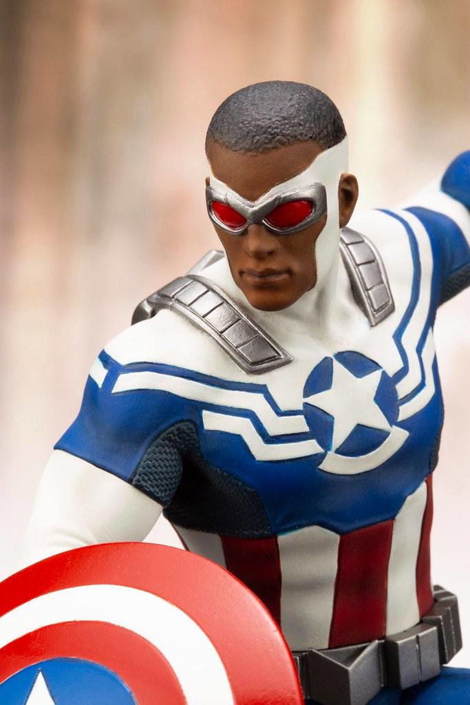 壽屋 ARTFX+ 系列 Marvel Universe【美國隊長(山姆·威爾遜)】キャプテン・アメリカ(サム・ウィルソン)
