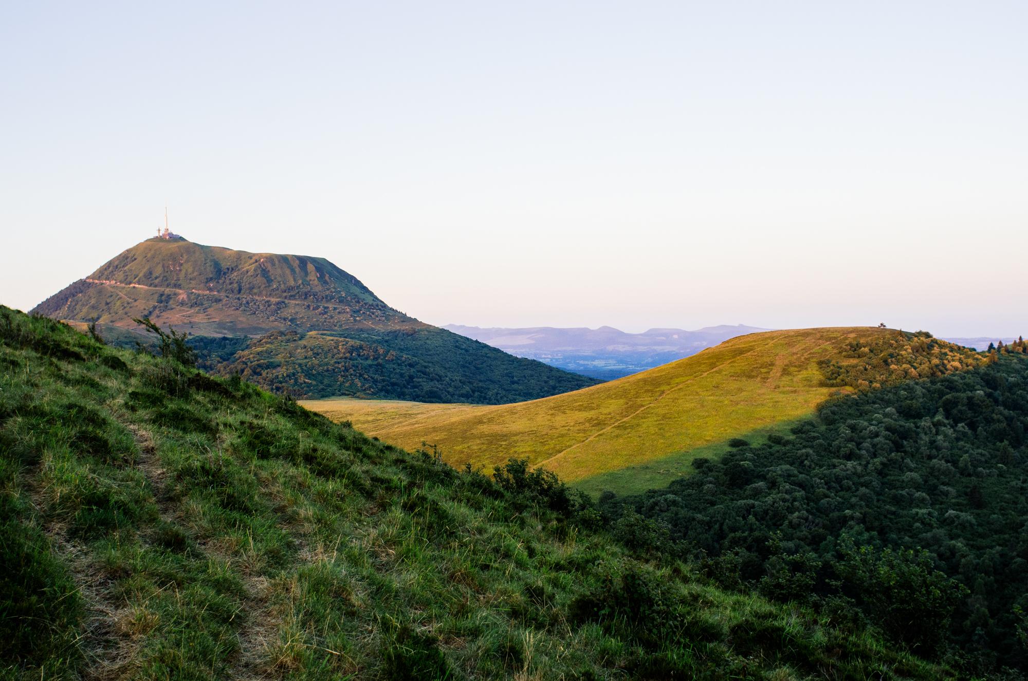 Road-trip en France - Le Puy de dôme depuis le Puy Celsi