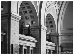 Union Station in Black and White