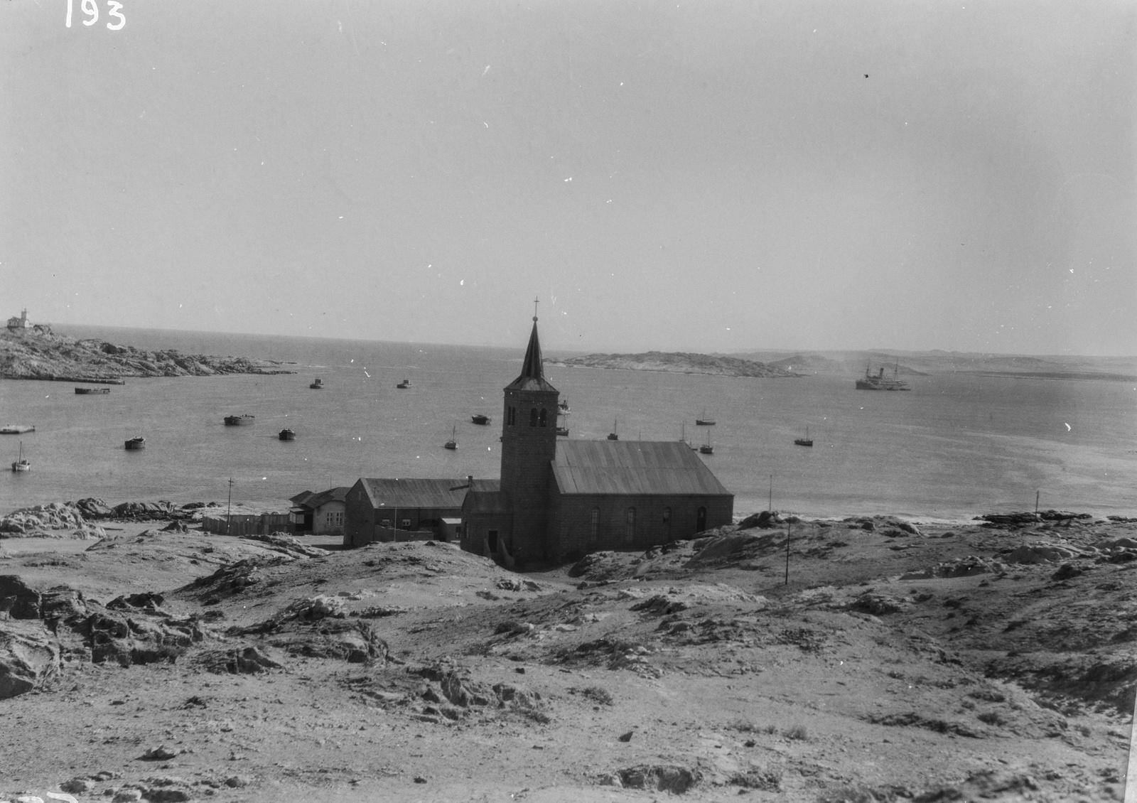 Южно-Африканский Союз. Кейптаун. Церковь в гавани