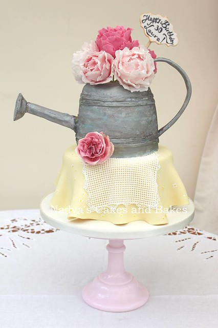 Watering Can Cake by Nadya's Cakes and Bakes