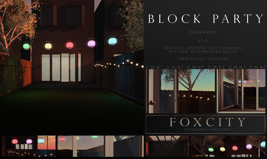 FOXCITY. Photo Booth – Block Party (Dusk)
