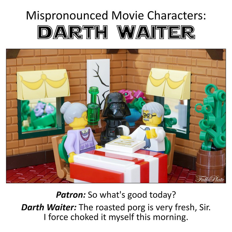 Mispronounced Movie Characters: Darth Waiter