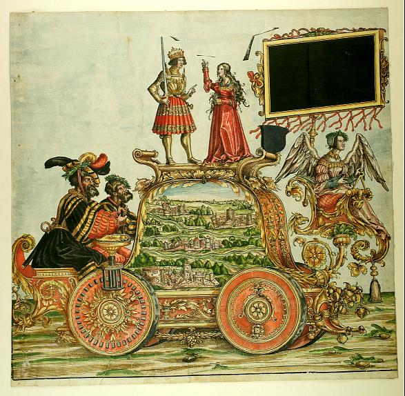 Triumphzug Kaiser Maximilians I, 1526, f. 41, Universitätsbibliothek Graz
