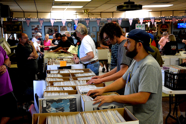 Record sale continues to rock in Bay City