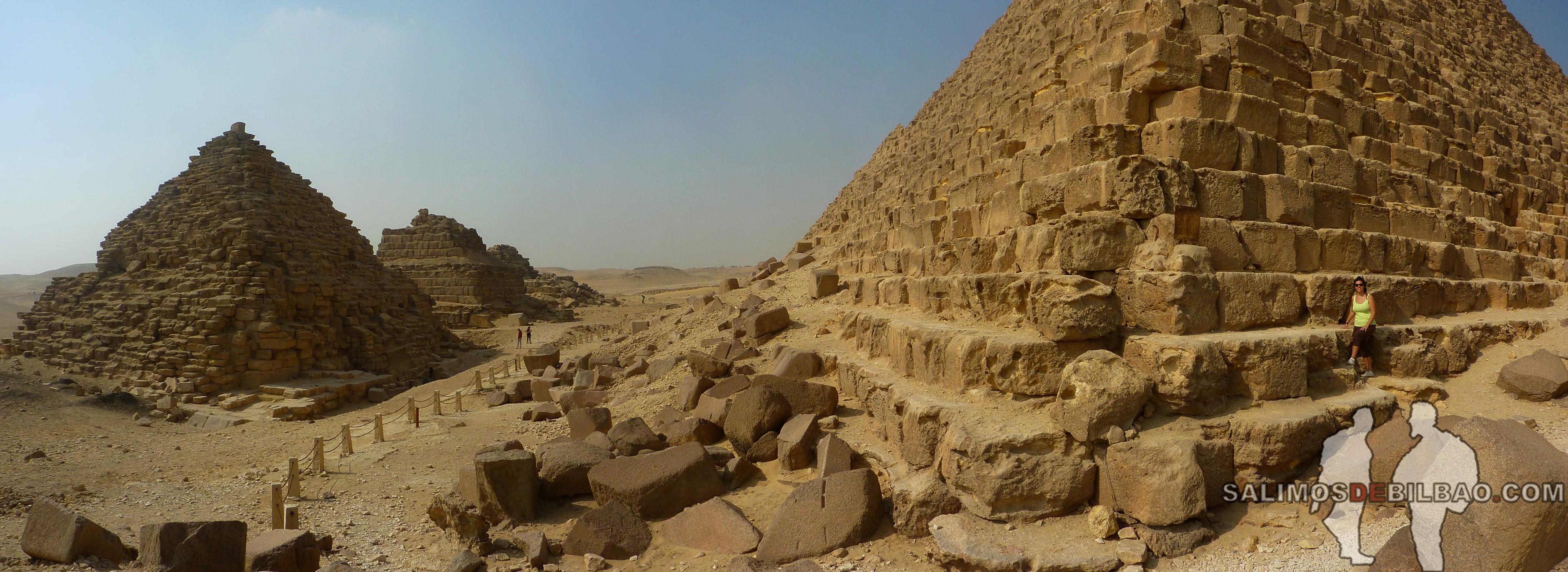 0109. Saioa, Pano, Pirámide de Micerinos