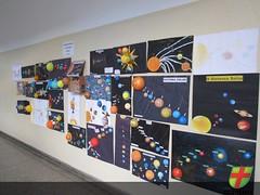 5º ano EF I expõe trabalho sobre Sistema Solar