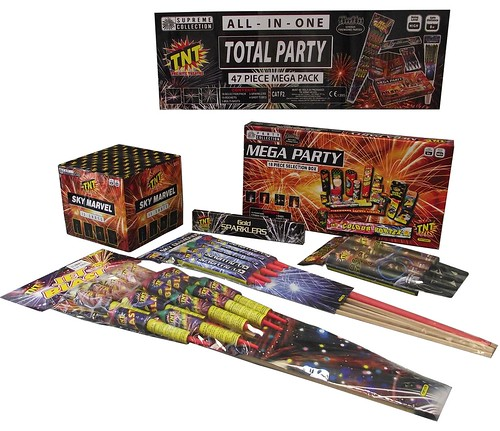 Total Party Fireworks Package by TNT Fireworks