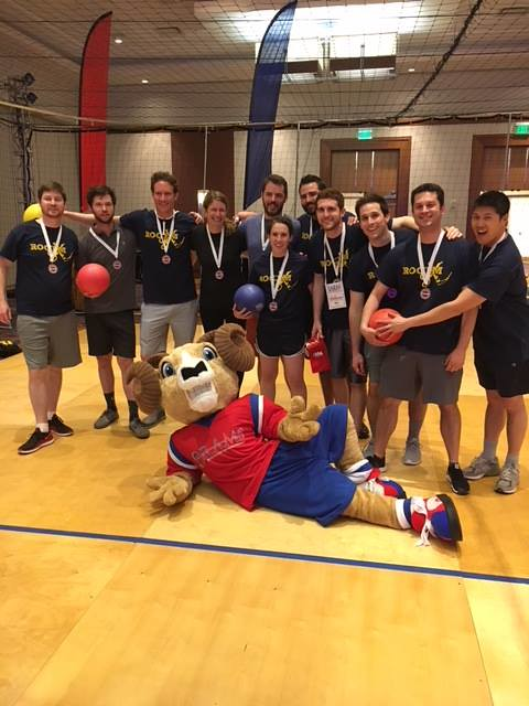 SAEM Annual Conf - Dodgeball 3rd Place