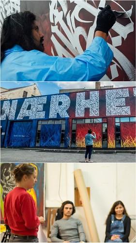 Participa artista mexicano Said Dokins en festival de arte urbano NuArt