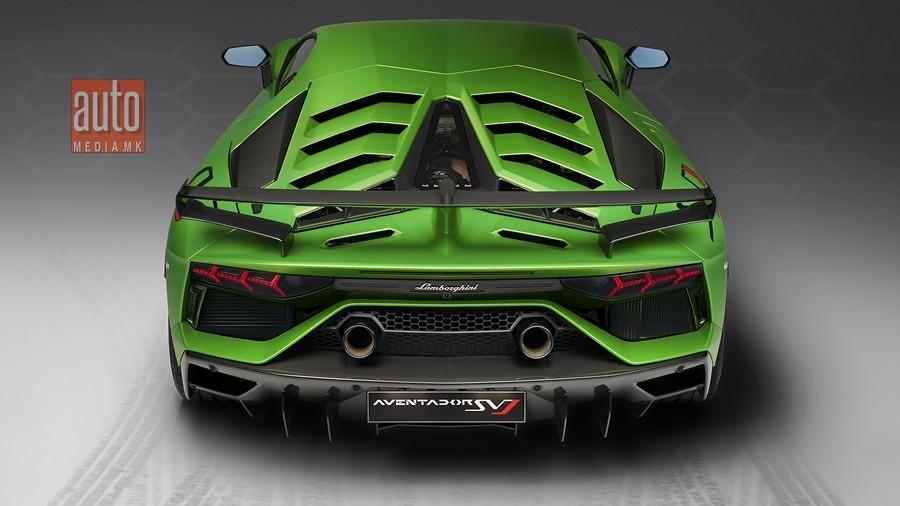 Lamborghini Aventador SVJ 5