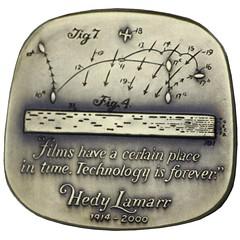 Hedy Lamarr medal reverse