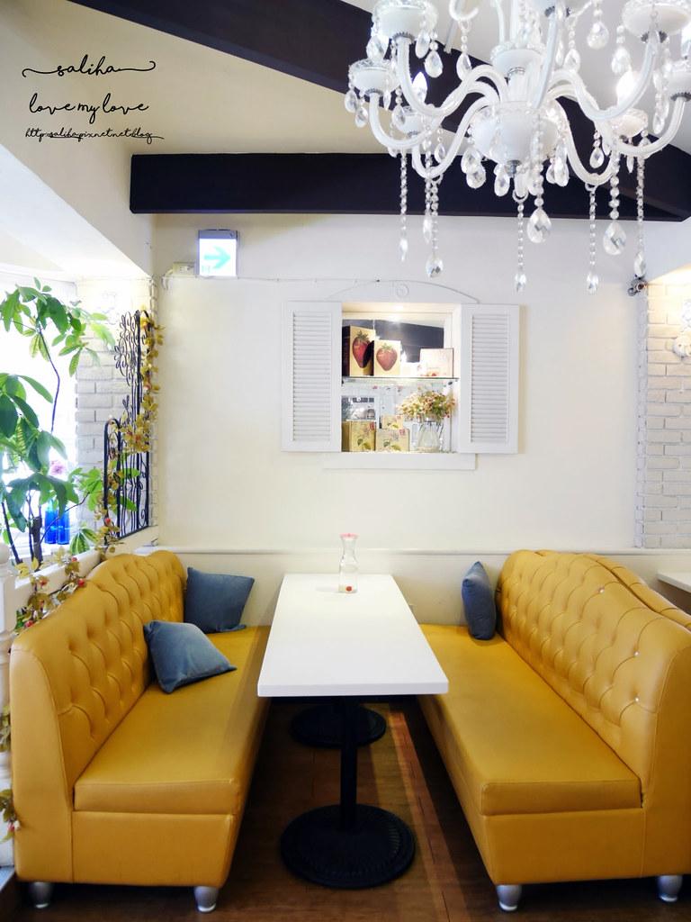台北西門站夢幻公主風咖啡館餐廳推薦oyami cafe (6)
