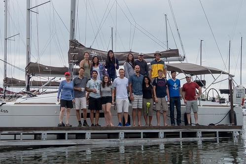 Dock at Pikes Bay Marina