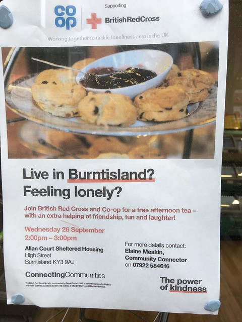 Live in Burntisland & Feeling Lonely? Friendship, Fun & Laughter on