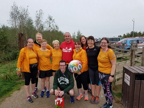 George's 100th parkrun