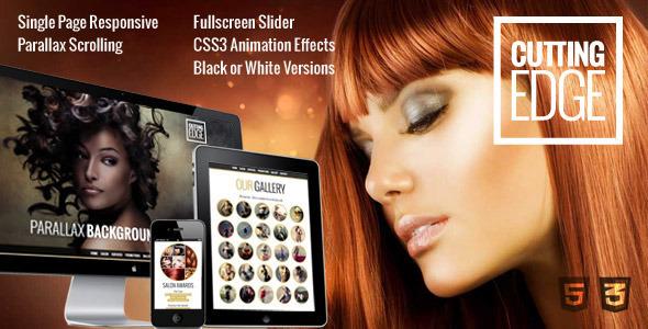 Cutting Edge v1.0.1 – Spa Hair Salon WooCommerce Theme